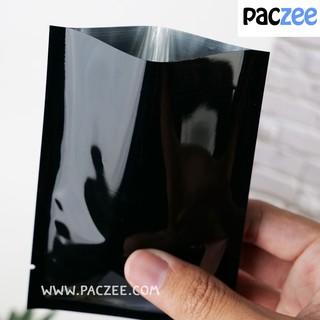 ซองซีล3ด้าน เนื้อเงา สีดำ (100ใบ/แพค)