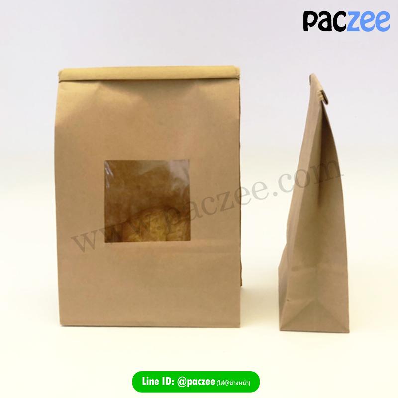 ถุงกระดาษใส่ขนมปัง1