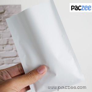 ซองซีล3ด้าน เนื้อด้าน สีขาว (100ใบ/แพค)